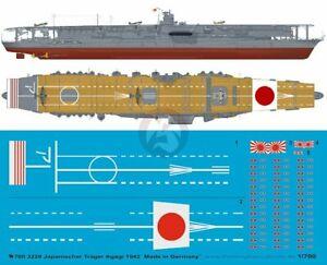 Peddinghaus 1/700 HIJMS Akagi Japanese Aircraft Carrier Markings 1942 WWII 3228