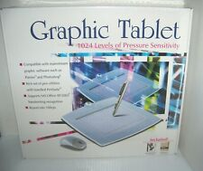 Graphic Tablet with Pen & Mouse WP8060 USB Digital Design 1024 levels