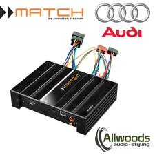 Match Amp and harness Package PP62DSP + FREE PP-AC Harness Cable Audi A1