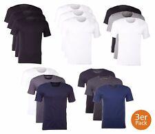 "BOSS Hugo Boss 3er P. O-T-Shirt Unterhemd ""round neck""- Vorteilspack Farbauswahl"