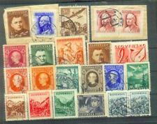 Lot Briefmarken aus der alten Slowakei