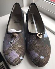 Vivienne WESTWOOD BALLERINA da Donna Blu / nero shoes UK3 EU36 54809036-w65 AW15