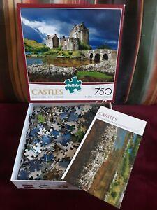 Buffalo MAJESTIC CASTLES  Eilean Donan Castle SCOTLAND 750 Pc Puzzle