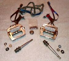 Vintage Lyotard Berthet Pedal with Christophe clips.