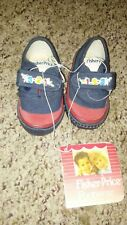 Vintage 1990 Fisher Price Baby Shoes Size 3
