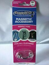 ReadeRest Magnetic Accessory Eyeglass Sunglass Holder Made With Swarovski Crysta