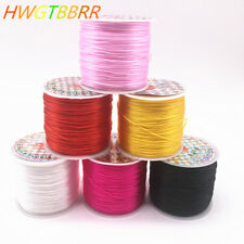 50M/Roll Elastic Crystal Line Rope Cord Jewelry Making Beads For Bracelet