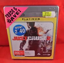 JUST CAUSE 2 - Playstation 3 PS3 Game Complete PAL Free Postage Oz Wide
