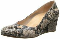 Vionic Women's Antonia Wedges Natural Snake Size 7