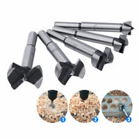 5Pcs Forstner Woodworking Drill Bit Set Boring Hole Saw Cutter Wood Tool 15~35mm