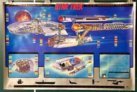 "STAR TREK 1995 USS ENTERPRISE NCC-1701  24"" X 36"" POSTER"
