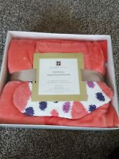 Soft & Cozy Angel Wrap and Sock Set Concierge Collection