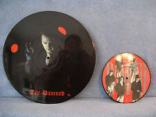 """The Damned, Interview Picture Disc MM 1216, / Thanks For the Night Damned 1 P 7"""""""