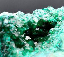 Dioptase & plancheïte - 168 grammes - Tantara Mine, Shinkolobwe, Congo