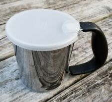 OXO Good Grips Stainless Steel Flour Sifter with Plastic Caps
