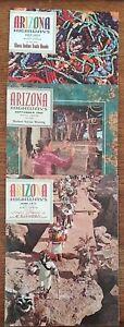 Arizona Highways Magazine. 3 Issues. September 1964, June 1971, July 1971