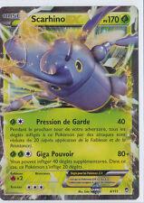Scarhino EX - XY3:Poings Furieux - 4/111 - Carte Pokemon Neuve Française