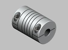 Flexible coupling Enclasp Metel Bellow coupling OD:25mm x L:32mm Bore:8x8mm (...