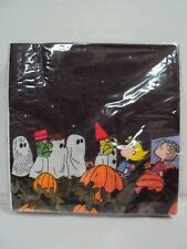 "PEANUTS, CHARLIE BROWN, ""IT'S THE GREAT PUMPKIN"" HALLOWEEN BEVERAGE NAPKINS NEW"