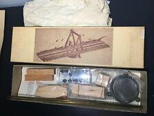 """Vintage Cliff Line Models TA4 HO """"A"""" FRAME TURNTABLE Wood Craftsman Model Kit"""