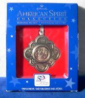 Hallmark 2000 American Spirit Collection Massachusetts State Quarter Ornament