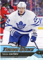 16/17 UPPER DECK YOUNG GUNS ROOKIE RC #234 NIKITA ZAITSEV MAPLE LEAFS *46546
