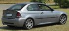 HEKO wind deflectors front set 2-piece BMW 3 E46 Compact 3 doors Hatchback 01-04