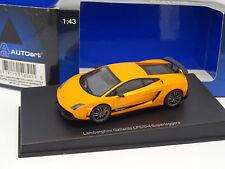 Auto Art 1/43 - Lamborghini Gallardo LP570 4 Superleggera naranja (pic nic)