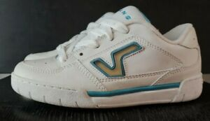 Vans strive white river blue vintage women shoes performance unlimited skate