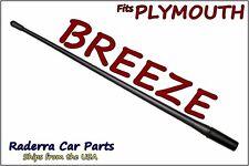"FITS: 1996-2000 Plymouth Breeze - 13"" SHORT Custom Flexible Rubber Antenna Mast"
