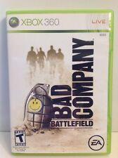 Battlefield: Bad Company (Microsoft Xbox 360, 2008) Complete