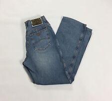 Armani jeans W30 tg 44 mom jeans hot boyfriend usati blu straight vintage T1567