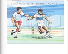 BLK00329 Nicaragua football block