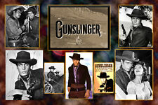 "4""X 6"" Collage Magnet ""Gunslinger""- Tv show- Tony Young"