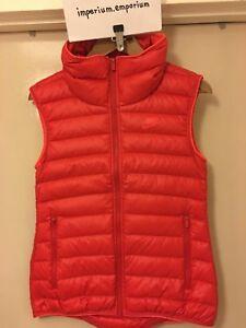 Nike Women's NSW Down Filled Vest University Red/Bright Crimson Size XS/M