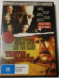 Double Feature High Risk & Thieves of Fortune (1 DVD) - James Coburn, NEW SEALED