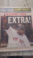 2004 BOSTON REDSOX ALCS- GAME 4- DAVID ORTIZ 12TH INNING HR- HERALD-10/18/2004