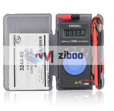 Hioki 3244-60 Card HiTester Digital Multimeter auto-ranging power saving