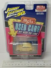 1/64 JOHNNY LIGHTNING USED CARS 1965 VOLKSWAGEN BEETLE CHASE CAR