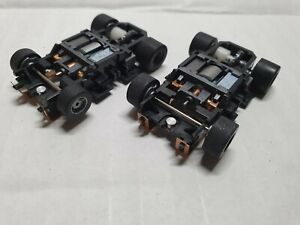 TYCO  CUSTOM 2 CHASSIS 440X2 WITH X3 ARMATURES/COBALT MAGNETS, FREESHIP!