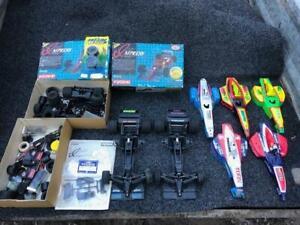 Bulk Lot of Vintage Kyosho Impress F1 1/10 Scale Radio Control Cars + Parts