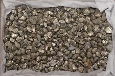 "Shiny Massive Pyrite Specimens Fools Gold 3/4"" to 1"" 1 Pound Mexico"