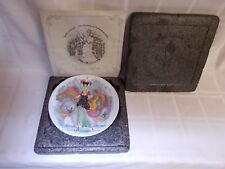 """2 French Collector Plates Albertine Limoges """"Women of the Century"""" Series"""