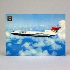 British Airways - Trident Zwei - Flugzeug Postkarte - Top Qualität