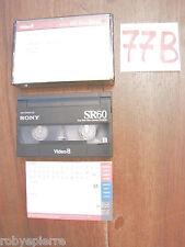 VIDEO8 VIDEO 8 VideoCassetta Cassetta SONY SR60 SR 60 vacanze VAL BADIA 1998