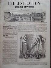 L' ILLUSTRATION 1843 N 16 ACADEMIE DE L'INDUSTRIE- EXPOSITION DE JUIN 1843