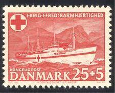 Denmark 1951 Red Cross/Medical/Health/Welfare/Hospital Ship/Transport 1v n35889