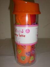 3 PACK OF FLIRTITUDE PANTY THONGS S SIZE 5 GREEN,RED,ORANG  FREE BONUS ORANE CUP