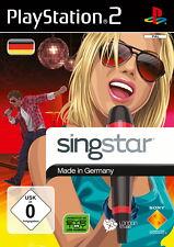 Sony PlayStation ps2-juego | SingStar made in Germany | incl. caja original | muy bien