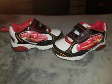Disney Pixar Cars Toddler Size 5 Lightning McQueen 95 Sneakers Shoes light up